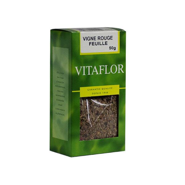 Vitaflor Bio Vitaflor Infusion Vigne Rouge Feuille 50g