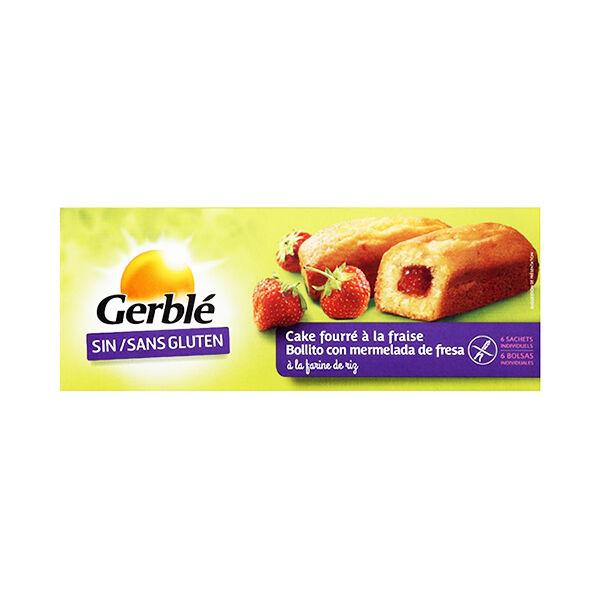 Gerblé Sans Gluten Cake Fourré Fraise 210g