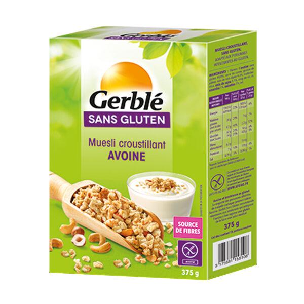 Gerblé Sans Gluten Muesli Avoine 375g
