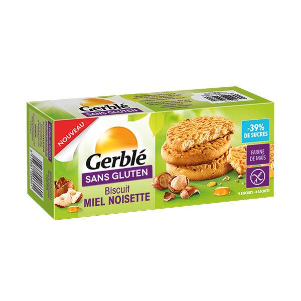 Gerblé Sans Gluten Biscuits Miel Noisette à Teneur Réduite en Sucres 120g
