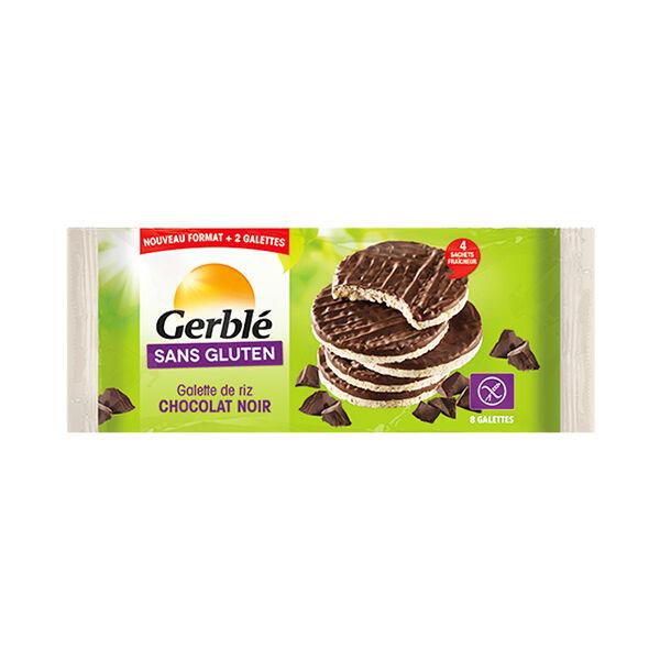 Gerblé Sans Gluten Galettes Riz Chocolat Noir 130g