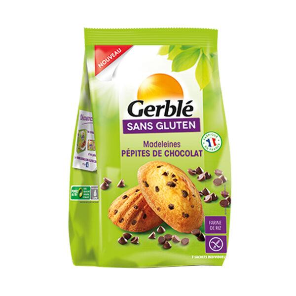 Gerblé Sans Gluten Madeleines Pépites Chocolat 210g