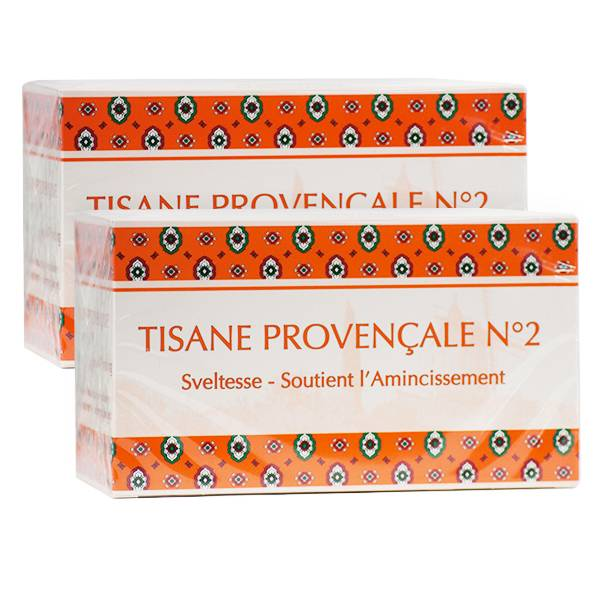 Tisane Provencale Tisane Provençale N2 Sveltesse Lot de 2 x 24 sachets
