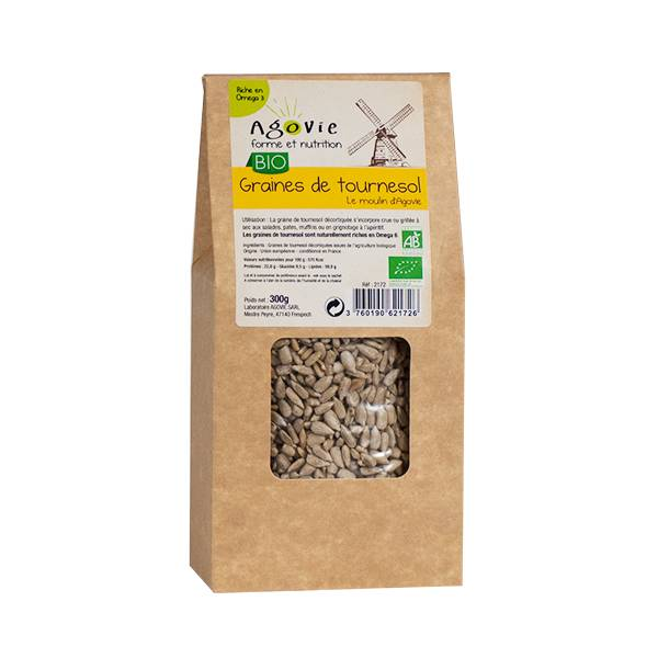Agovie Bio Graines de Tournesol 300g