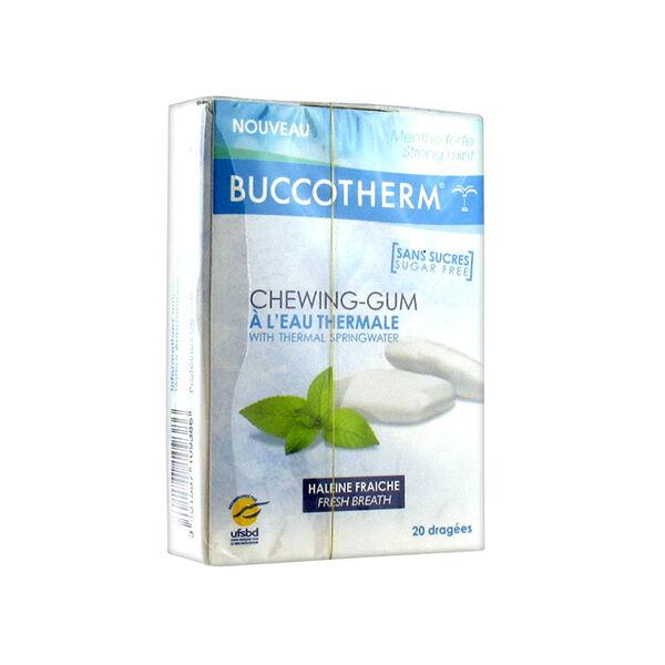 Buccotherm Chewing-Gum Sans Sucres 20 dragées