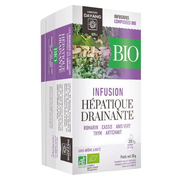 Dayang Infusion Bio Hépatique Drainante 20 sachets