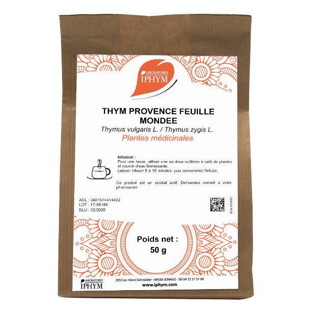 Iphym Vrac Thym de Provence Feuille Entière 50g