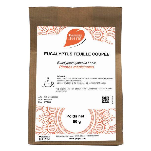 Iphym Vrac Eucalyptus Feuille Coupée 50g