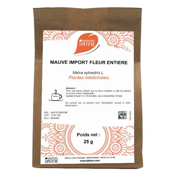 Iphym Vrac Mauve Fleur Import 25g