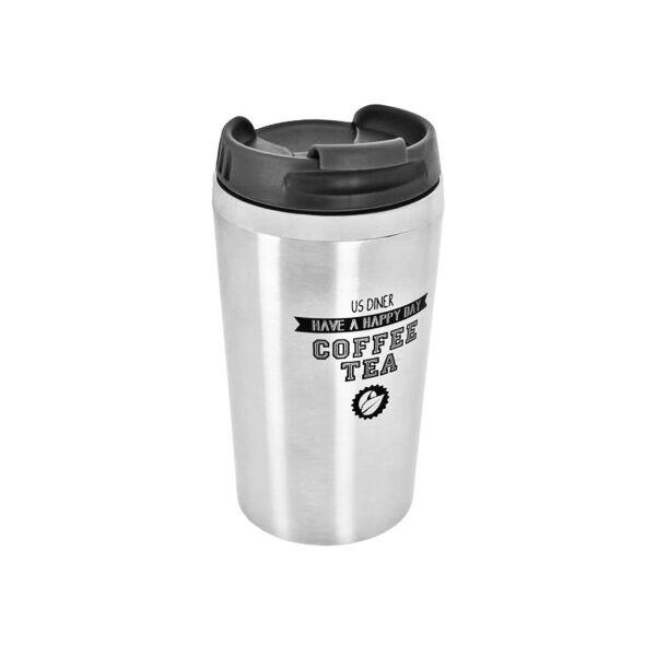 Mug de Transport Isotherme Noir
