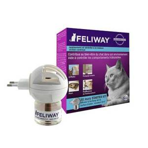 Feliway Diffuseur + Recharge 48ml - Publicité