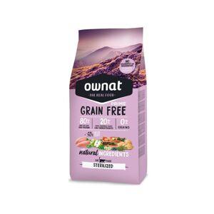 Ownat Grain Free Prime Chat Stérilisé 3kg - Publicité