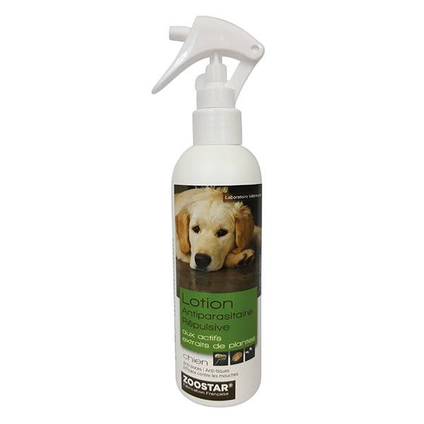 Zoostar Lotion Antiparasitaire Répulsive Chien 250ml