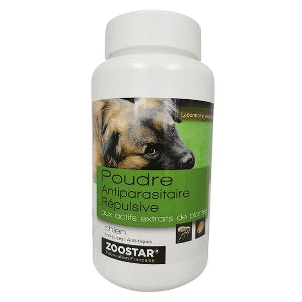 Zoostar Poudre Antiparasitaire Répulsive Chien 150g