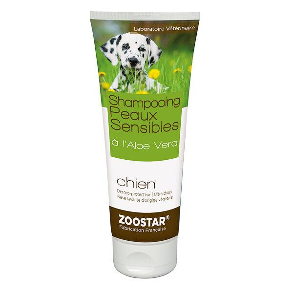Zoostar Shampooing Peaux Sensibles à l'Aloe Vera Chien 200ml