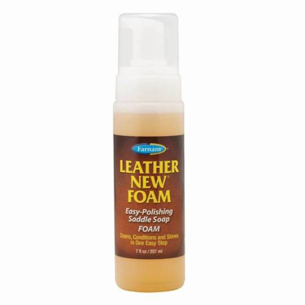 leather new foam savon glycerine diffuseur mousse pour les cuirs flacon de 207ml
