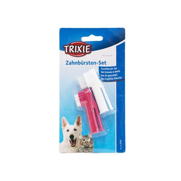 Trixie Brosse à Dent Doigtiers Vétérinaire - Boîte de 2