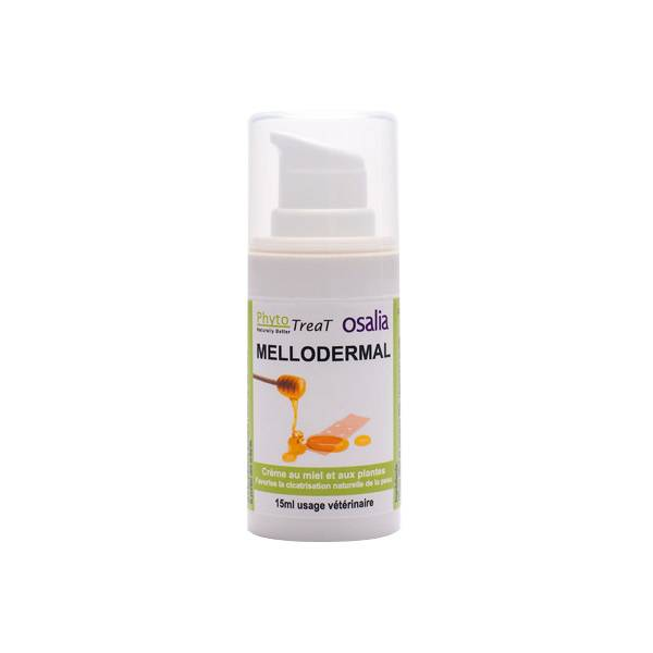 Mellodermal Cicatrisant Crème Externe tous animaux flacon doseur 15ml