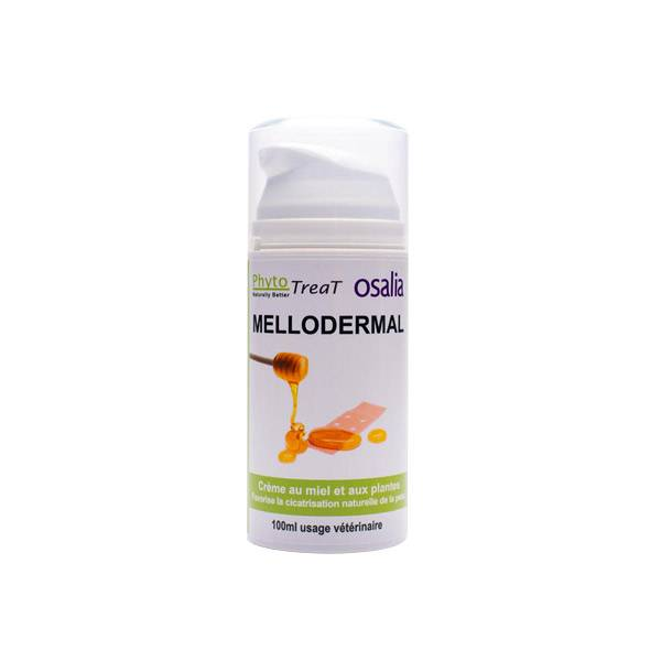 Mellodermal Cicatrisant Crème Externe tous animaux flacon doseur 100ml