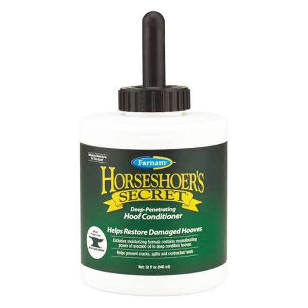 Pommier Nutrition horseshoer's secret topical hoof conditionner creme hydratante sabot cheval flacon de 946ml