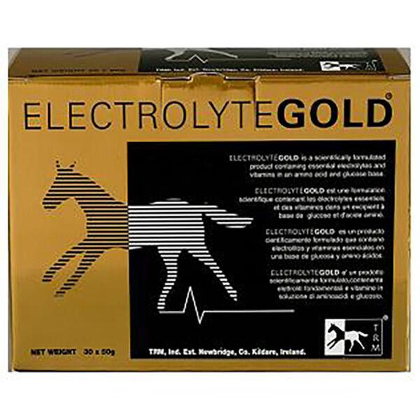 SEOA Vétérinaire Electrolytegold Complement Nutritionnel Cheval Poudre Orale 30 sachets de 50g