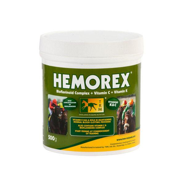 SEOA Vétérinaire Hemorex Complement Alimentaire Contre Risque d'Hemorragies Pulmonaires Poudre Orale 500g