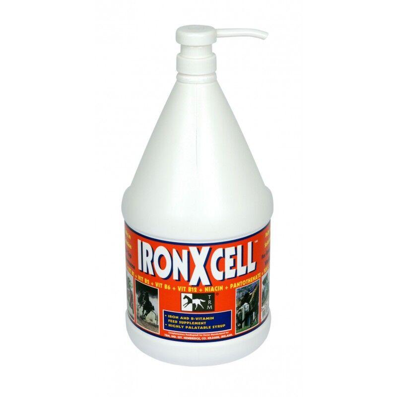 SEOA Vétérinaire Iron x Cell Aliment Complementaire Liquide Tonique et Stimulant Cheval 3,75L