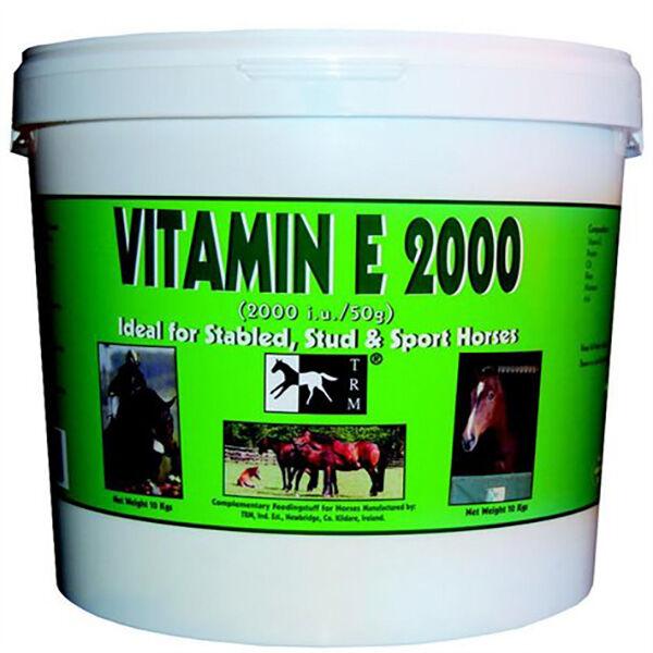 SEOA Vétérinaire Vitamine e 2000 Cheval Poudre Orale 1,5kg