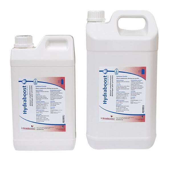 Bimeda Hydraboost Aliment Complémentaire Electrolytes Porcelet Solution Buvable bidon de 5L