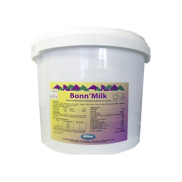 Sennecq Bonne Bonn'milk aliment complementaire d'allaitement destine au poulain poudre seau de 10kg