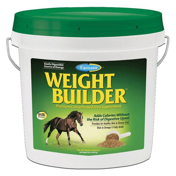 Pommier Nutrition Weight Builder Semoulette Cheval 3,624kg