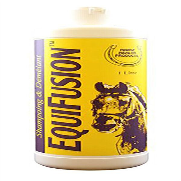 equifusion shampoing et demelant cheval flacon de 1l