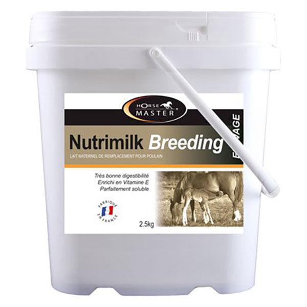Pommier Nutrition Nutrimilk Breeding Horse Master Lait Maternel de Remplacement Cheval 2,5kg