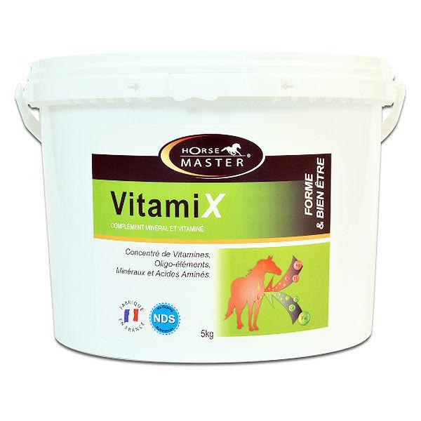 Pommier Nutrition Vitamix Horse Master Complément Minéral et Vitaminique Cheval Poudre Orale 5kg