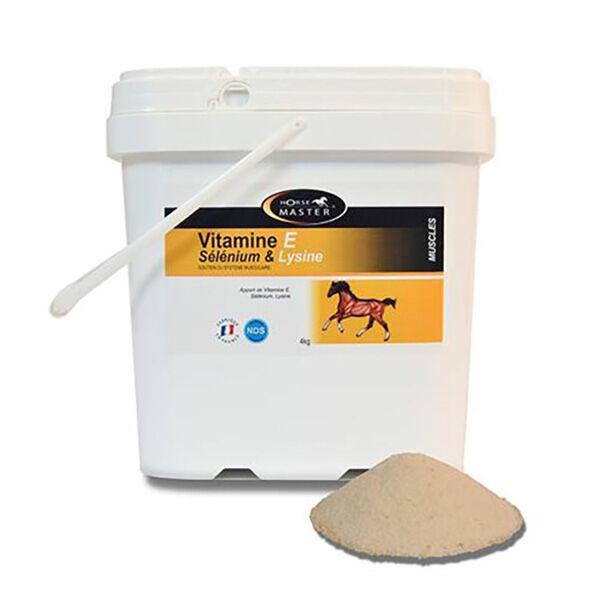Vitamine E Selenium Lysine Horse Master Cheval Poudre Orale 4kg