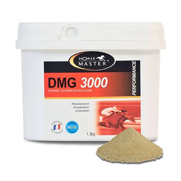Pommier Nutrition Dmg 3000 Horse Master Aliment Complementaire Musculaire Cheval Poudre Orale 1,3kg