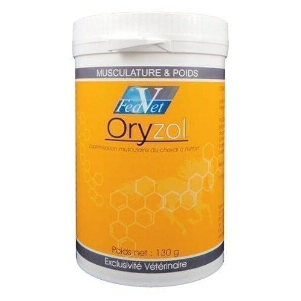 Pommier Nutrition Oryzol Optimisation Musculaire du Cheval à l'Effort Poudre Orale 1kg