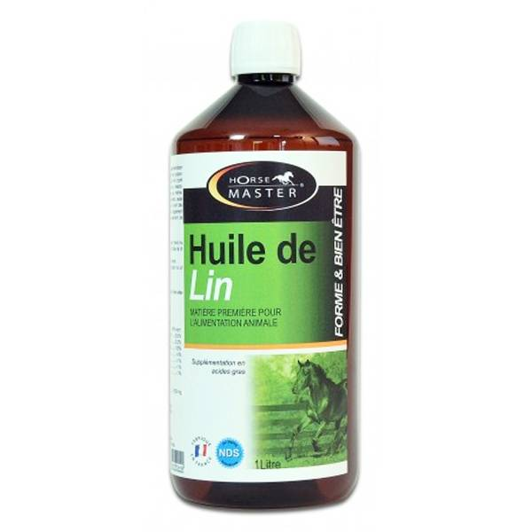 Pommier Nutrition Horse Master HM Huile Lin Solution Buvable 1L
