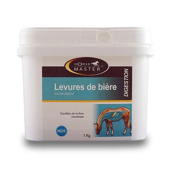 Horse Master Levure de Biere Equilibre de la Flore Intestinal Cheval Poudre Orale pot de 1kg