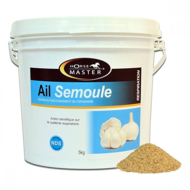 Pommier Nutrition Horse Master Ail Supplément Nutritionnel Cheval Poudre Orale 1kg