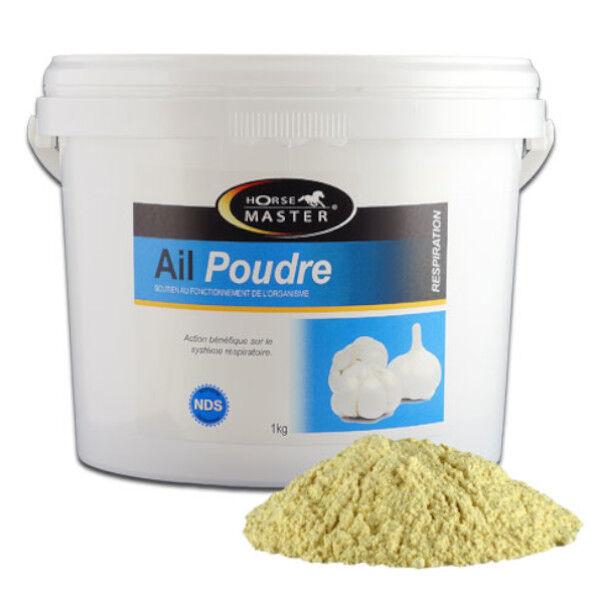 Pommier Nutrition Horse Master Ail Supplément Nutritionnel Cheval Poudre Orale 10kg