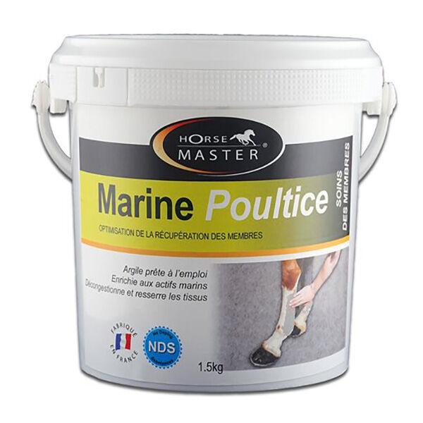 Pommier Nutrition Marine Poultice Argile (kaolinite+montmorillonite) Prete a l'Emploi Cheval 1,5kg