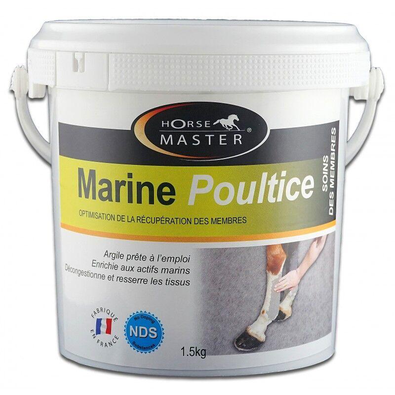 Pommier Nutrition Marine Poultice Argile (kaolinite+montmorillonite) prête a l'emploi Cheval seau de 3kg