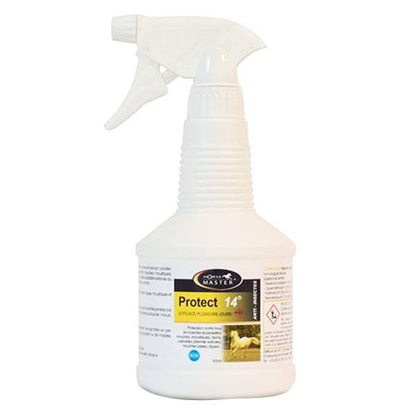 Pommier Nutrition Horse Master Protect 14 Répulsif Insectes 500ml