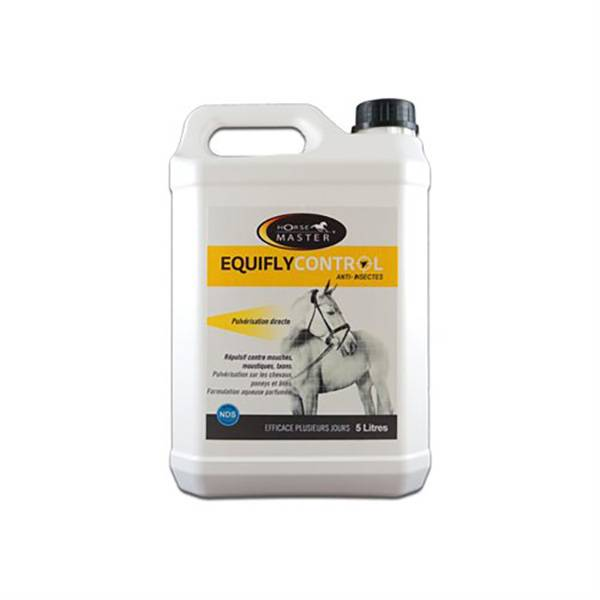 Equifly Control Insectifuge Cheval Solution Externe Recharge bidon de 5L