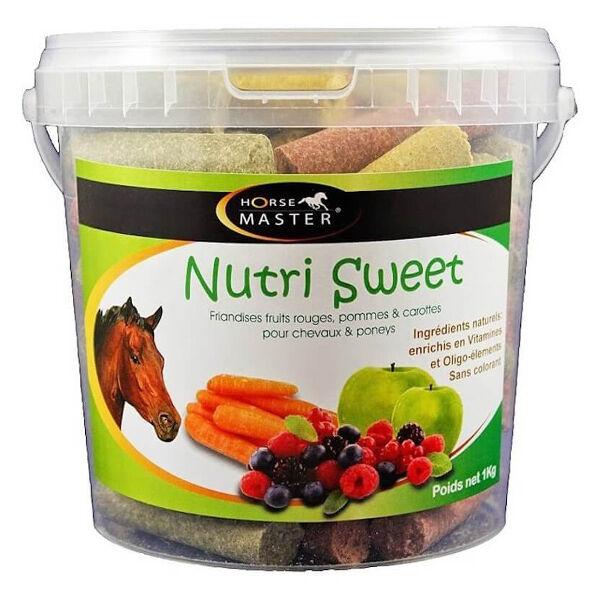 Pommier Nutrition Horse Master Nutri Sweet Saveur Triple Friandise Cheval 20kg