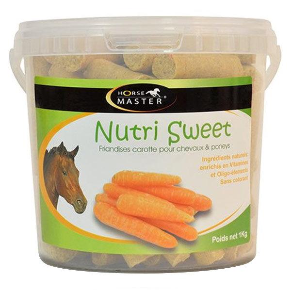 Pommier Nutrition Horse Master Nutri Sweet saveur carotte Friandise Cheval 20kg