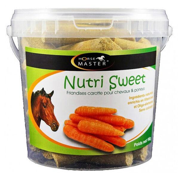 Pommier Nutrition Horse Master Nutri Sweet saveur carotte Friandise Cheval en seau de 1kg