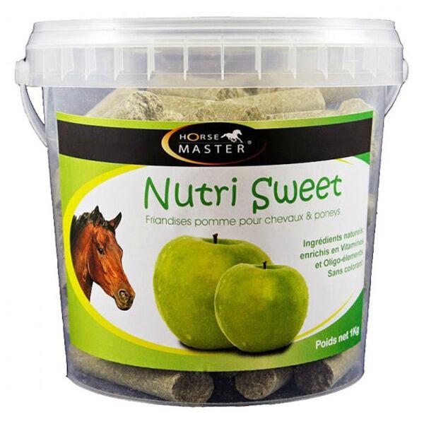 Pommier Nutrition Horse Master Nutri Sweet Saveur Pomme Friandise Cheval en seau de 1kg