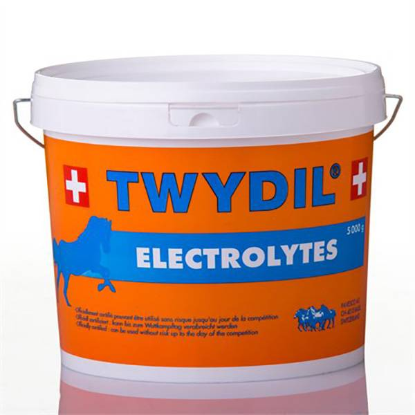 Twydil Aliment Complementaire a Base d'Electrolytes Chevaux Poudre Orale 5kg